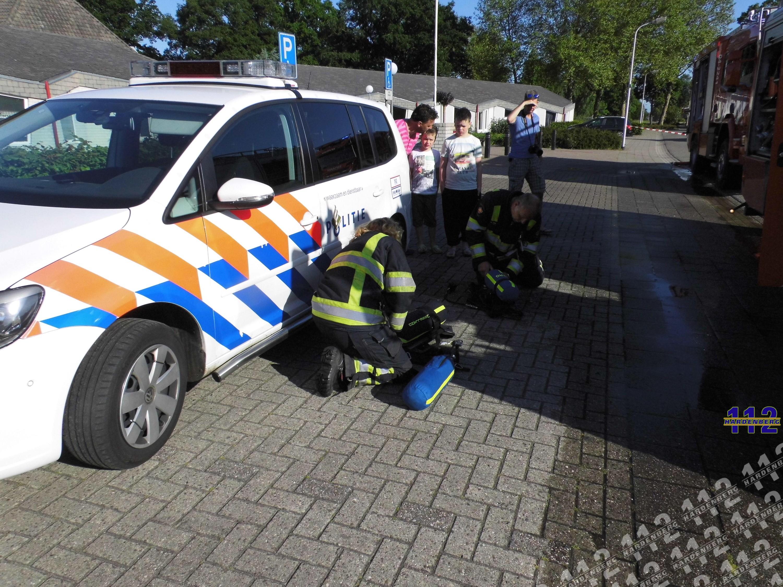 Schuurbrand slaat over naar badkamer in Ommen - 112 Hardenberg